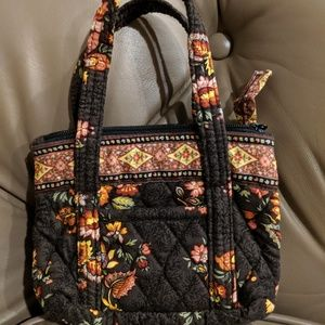 Vera Bradley Chocolate Mini Bag